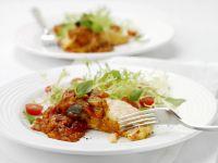 Lachs mit Tomatensauce Rezept