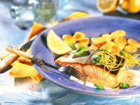 Lachs mit Zitronensauce Rezept