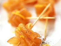 Lachs-Spießchen Rezept