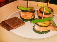 Lachs-Zucchini-Spießchen Rezept