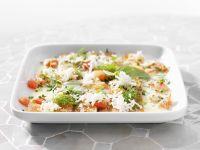 Lachscarpaccio mit Meerrettich und geschmolzener Butter Rezept