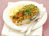Lachskotelett mit Kräuterhaube Rezept