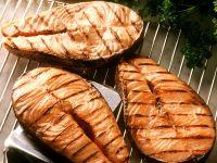 Lachskoteletts vom Grill Rezept