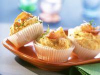 Lachsmuffins mit Dill und Kresse Rezept