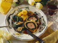 Lamm im Blätterteigmantel Rezept