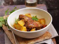 Lamm-Kartoffelragout Rezept