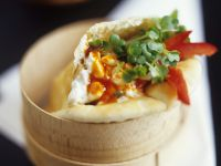 Lamm mit Hummus im Pitabrot Rezept