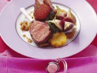 Lamm mit Polenta und Feigen Rezept
