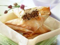 Lamm-Taschen aus Yufka-Teig Rezept