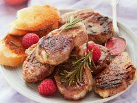 Lammchops mit fruchtiger Sauce Rezept