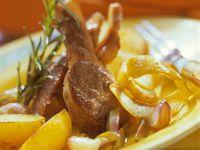 Lammchops mit Kartoffeln Rezept