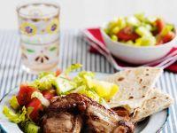 Lammchops mit Salat Rezept