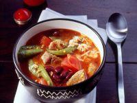 Lammeintopf mit Reis und roten Bohnen Rezept