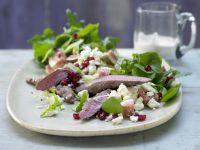 Lammfilet auf Portulak-Rucola-Salat Rezept