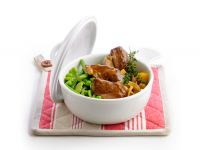Lammgulasch mit Gemüse Rezept
