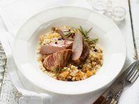 Lammrücken auf Couscous Rezept