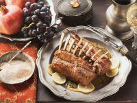 Lammrücken nach mittelalterlicher Art Rezept