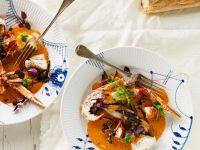 Langostinos in Tomatensauce Rezept