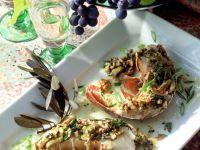 Languste mit Oliven-Walnuss-Butter Rezept