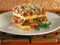 Lasagne aus Polenta und Gemüse Rezept