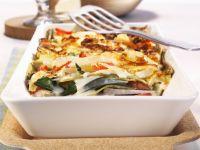 Lasagne mit Mangold und Kohl Rezept