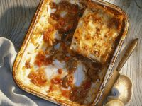 Lasagne mit Pilzen Rezept