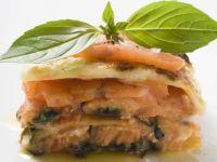 Lasagne mit Wildlachs Rezept