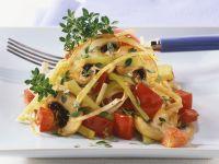 Lauch-Champignon-Gemüse Rezept