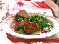 Leberterrine mit Salat Rezept