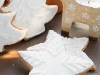 Lebkuchenplätzchen mit Zuckerguss Rezept