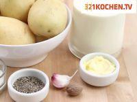 Leichtes Kartoffelgratin