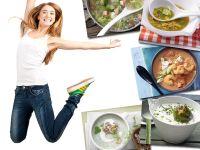5 Sattmacher-Suppen unter 200 kcal