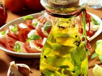 Limetten-Knoblauchöl Rezept