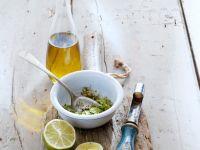 Limetten-Kräuter-Dressing Rezept