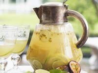 Limetten-Maracuja-Bowle Rezept