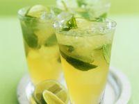 Limettenpunsch mit grünem Tee Rezept