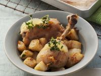 Limonenhähnchen und Kartoffeln Rezept