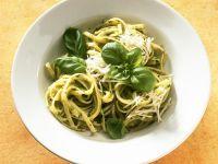 Linguine mit Pesto verde Rezept