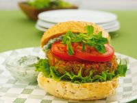 Linsen-Burger Rezept