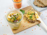 Linsen-Curry-Aufstrich Rezept