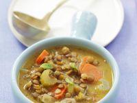 Linsen-Gemüse-Suppe Rezept