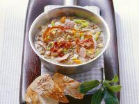 Linsen-Gemüsesuppe Rezept