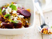 Linsen-Rote-Bete-Salat Rezept