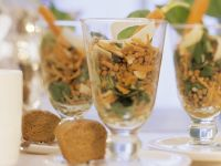 Linsensalat mit Möhren Rezept