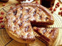 Linzer Torte mit Cranberries Rezept