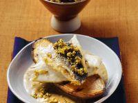 Loup de mer auf indische Art Rezept