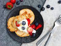 Low-Carb-Pancakes Rezept