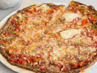 Low Carb Zucchinipizza Rezept