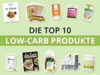 Die Top 10 Low-Carb Produkte