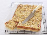 Macadamia-Kuchen mit Karamell Rezept